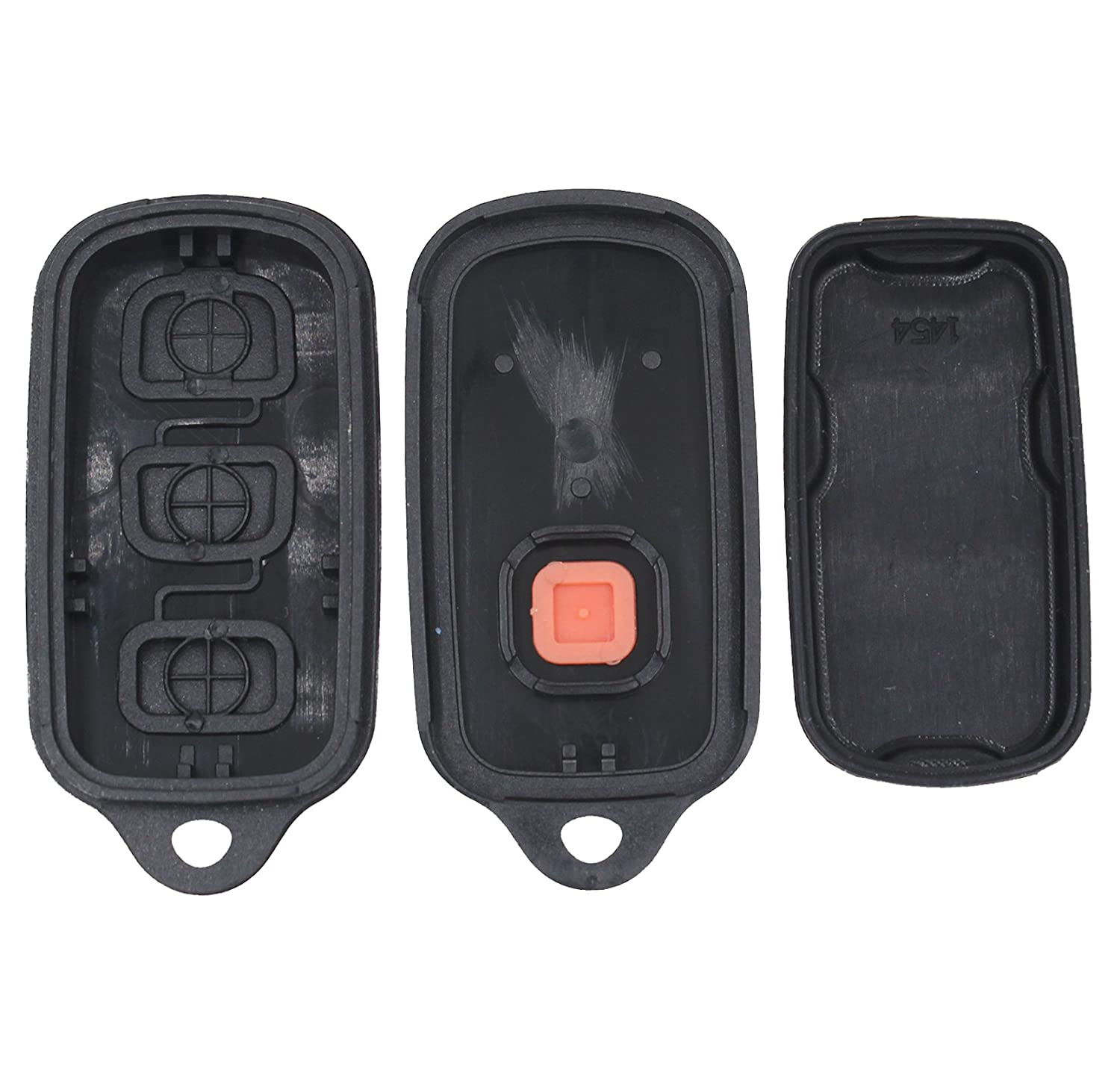 1 Panic 4 Button Remote Keyless Fob Case for Toyota Avalon 1998-2004 Auto Key Fob DM-FE-XM32 New 3