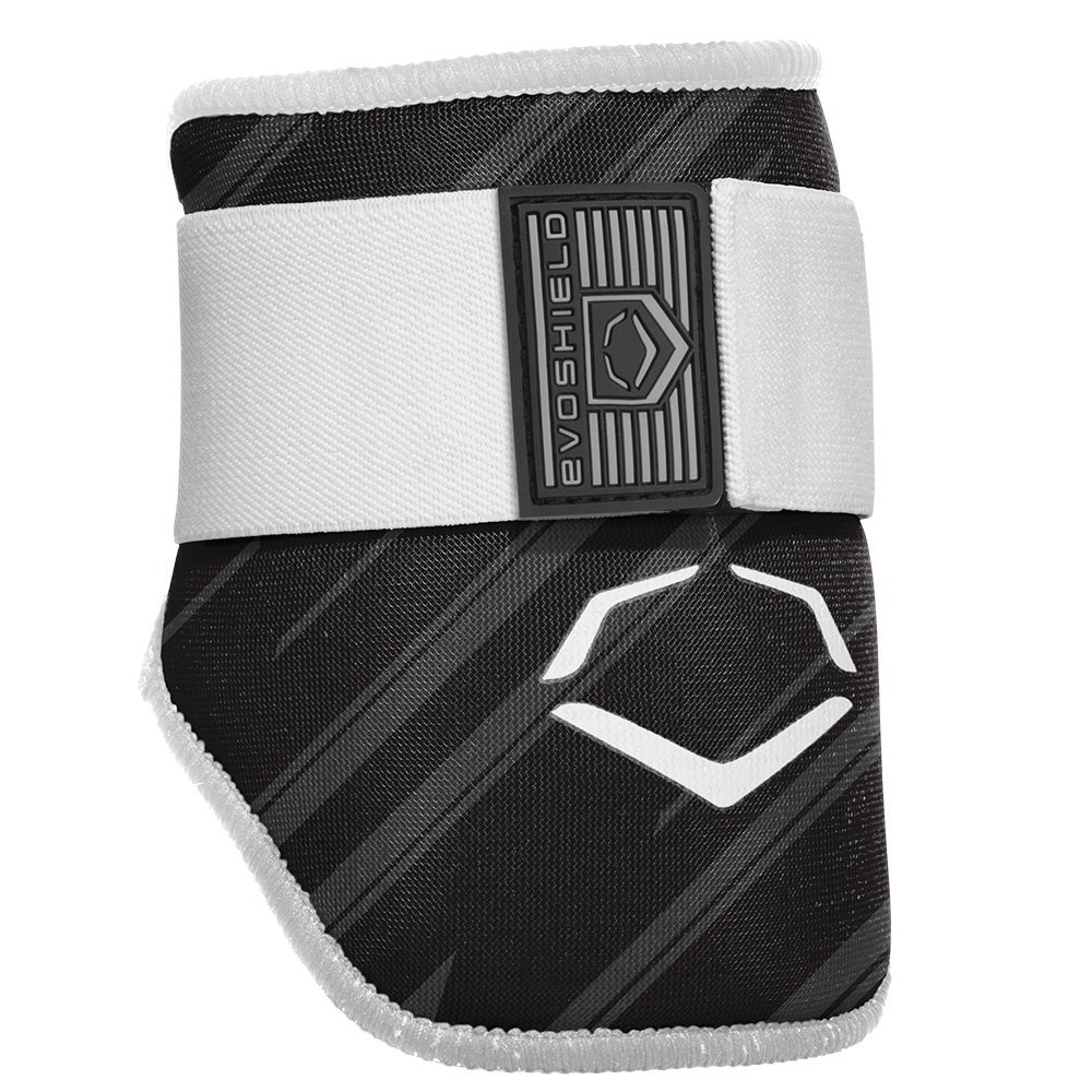 evoshield MLB Teige Speed Stripe Elbow Guard, Bambina Uomo Ragazzo Donna, Black/White 2046120.003