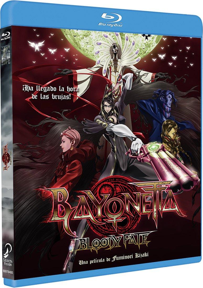 Bayonetta Bloody Fate Blu-Ray [Blu-ray]: Amazon.es: Animación, Fuminori Kizaki, Animación: Cine y Series TV