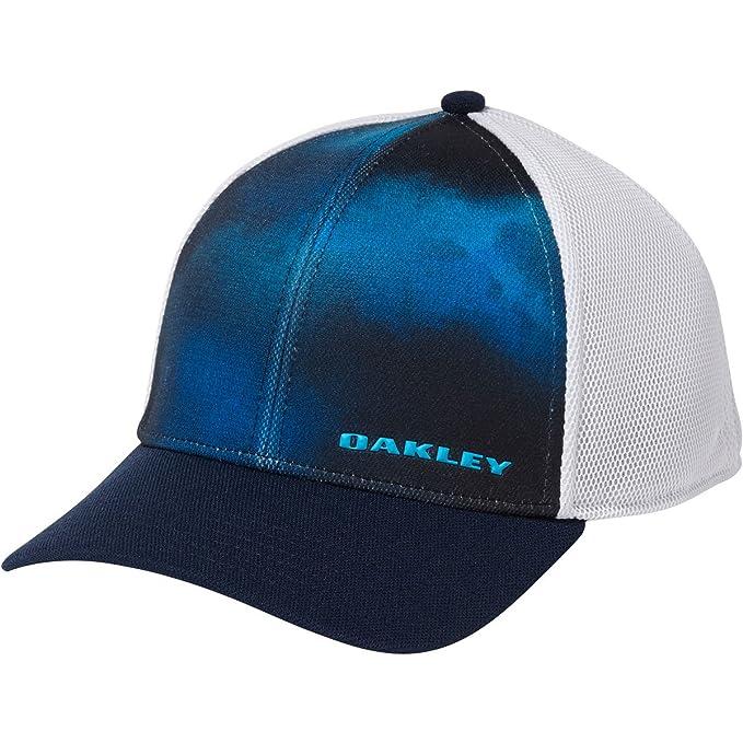 Oakley Silicon Bark 4.0 Print Fathom Flexfit: Amazon.es: Ropa y ...