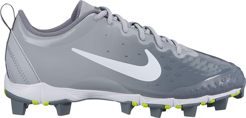 Nike Women's Hyperdiamond 2 Keystone Softball Cleats (10, Grey/White) by Nike