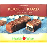 HealthWise Rockie Road Protein Bar, (7 packets of 1.4 oz, net 9.835 oz.) by HealthWise