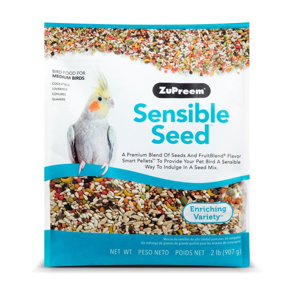 Sensible Seed Bird Food for Small Birds ZuPreem 762177450209