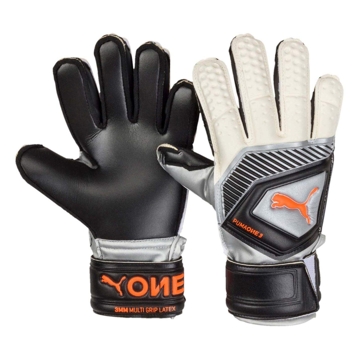 Puma One Protect 3  JR, Goalkeeper Gloves Unisex Adulto 41481