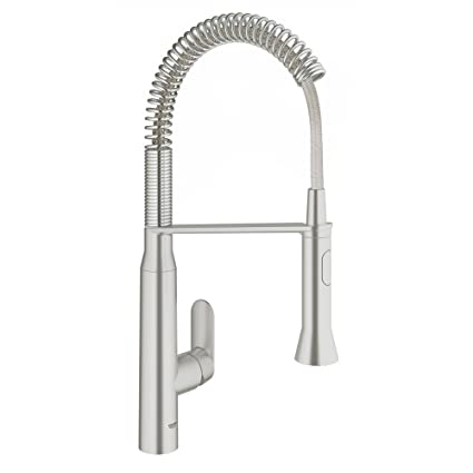 K7 Medium Semi-Pro Single-Handle Standard Kitchen Faucet - Touch On ...