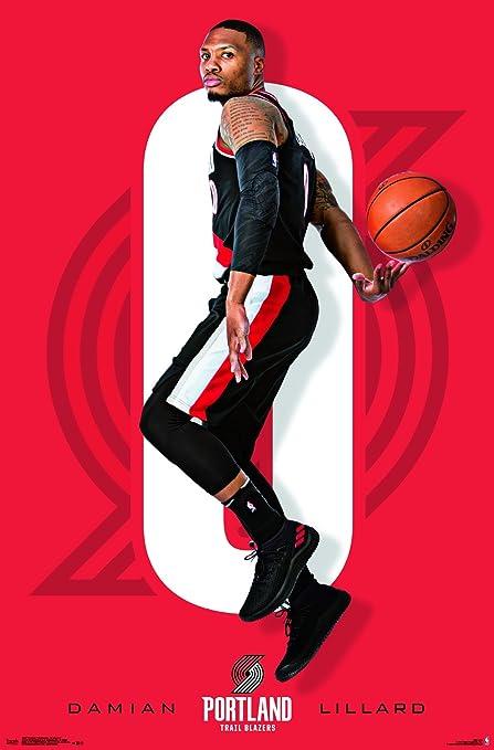 Trends International Portland Trail Blazers Damian Lillard