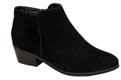 BEAUTY-03 Women Sneaker Petty Stacked Heel Side Zipper Ankle Booties
