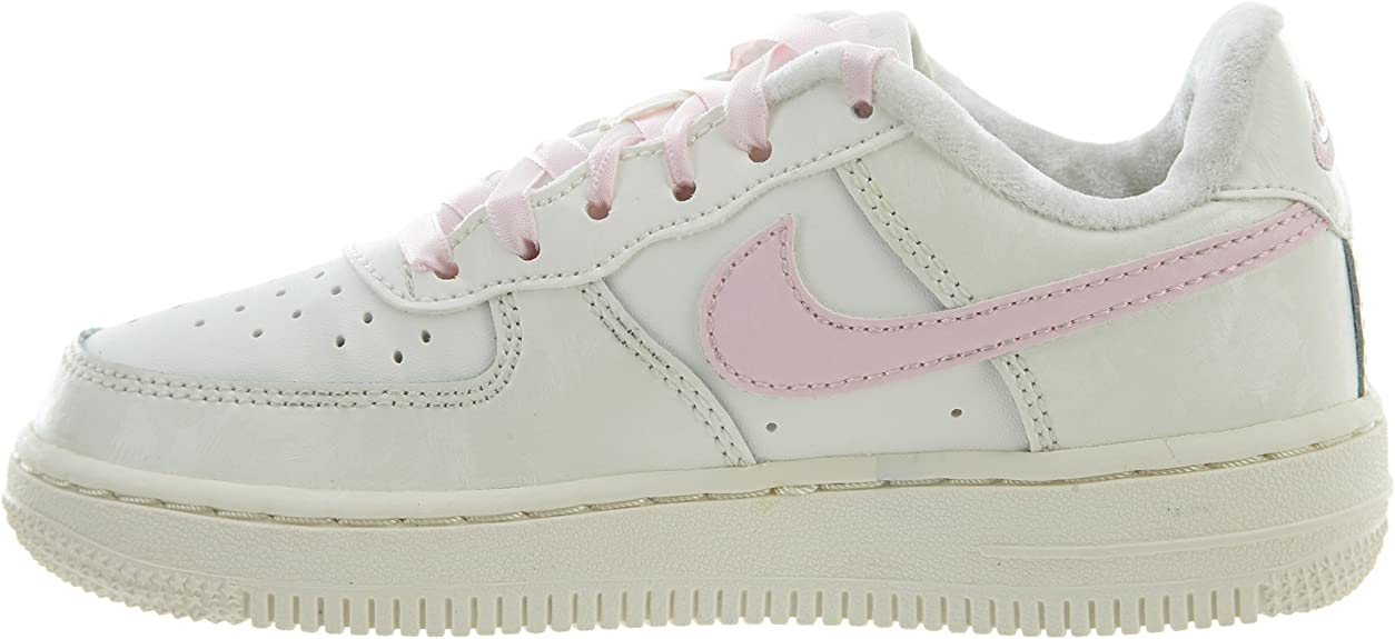 Nike 314220 130, Mädchen Sneaker Weiß WeißRosa: