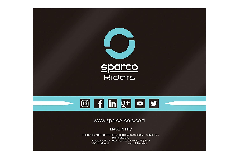 Sparco Riders Casco 501 Negro//Rojo talla L