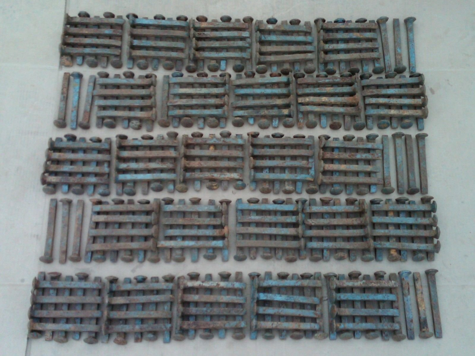 250 Railroad Spikes by US Rail