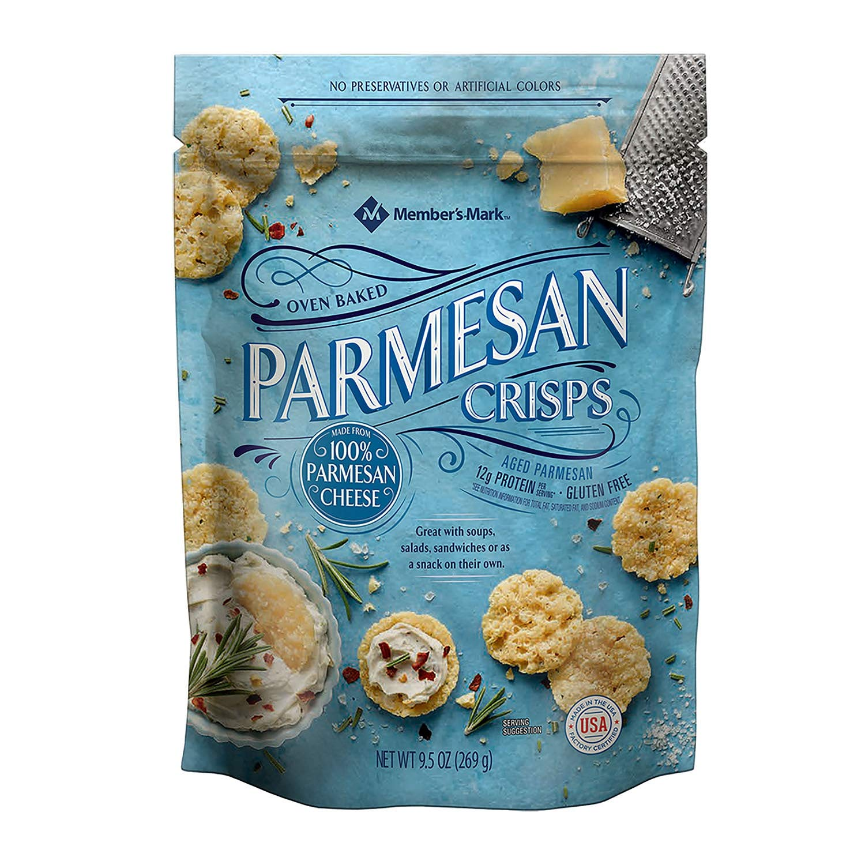 Member's Mark Parmesan Crisps 9.5 oz. (pack of 4) A1 by Member's Mark (Image #1)
