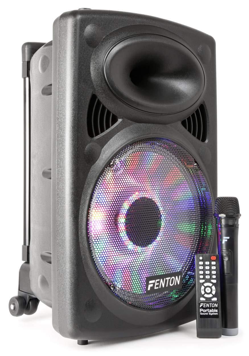 Fenton FPS12 –  Systè me de sonorisation Portable 30, 4 cm Noir 4cm Noir Tronios