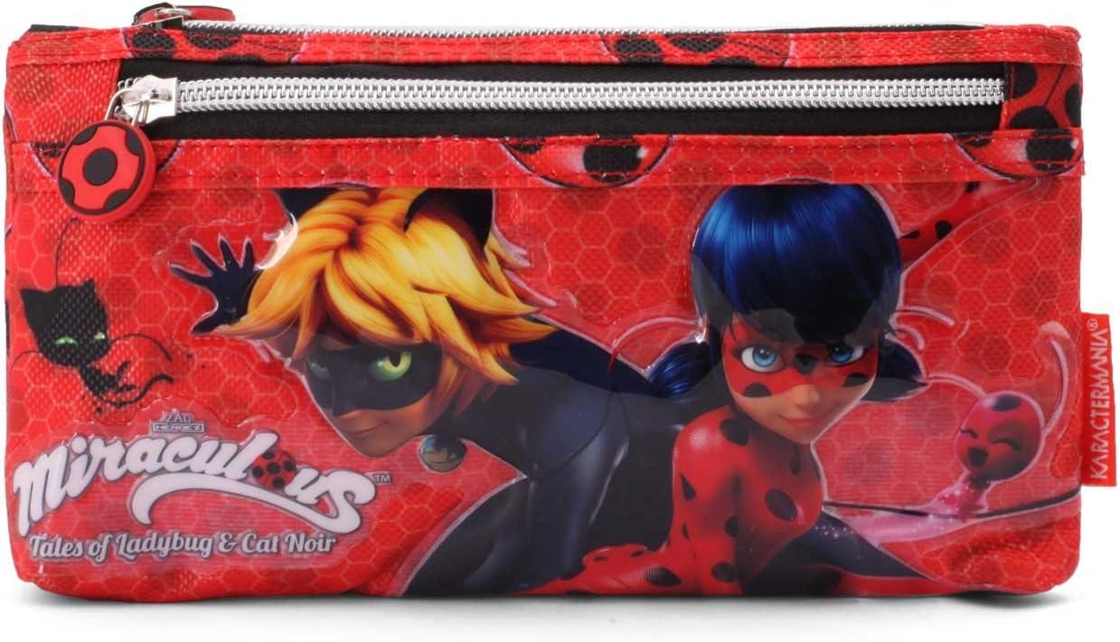 Karactermania 35510 Ladybug Defenders Estuches, 22 cm, Rojo: Amazon.es: Equipaje