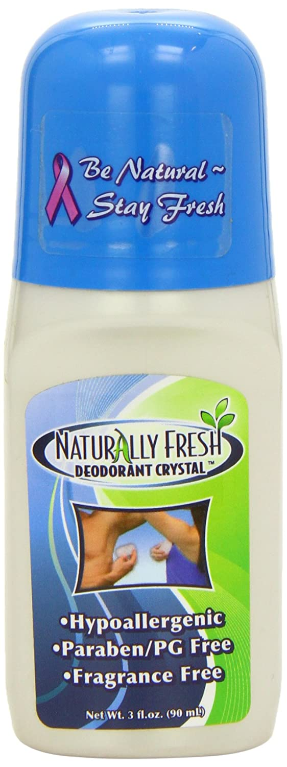Naturally Fresh Crystal Roll-On Deodorant Fragrance Free 90 ml UNFI - Select Nutrition 32145