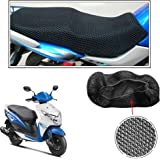 Vheelocityin No Heat Net Seat Cover Motorcycle / Bike/ Scooty Seat Cover For Honda Dio 2015