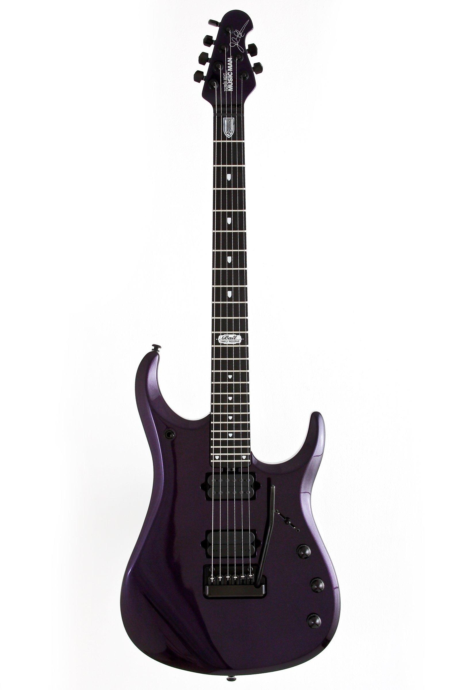 Ernie Ball Music Man John Petrucci JPX Electric Guitar - Two Humbucker Barolo Color Mahogany Neck Ebony Fretboard Black Hardware