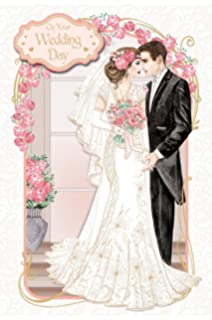 art deco on your wedding day large boxed luxury wedding day card