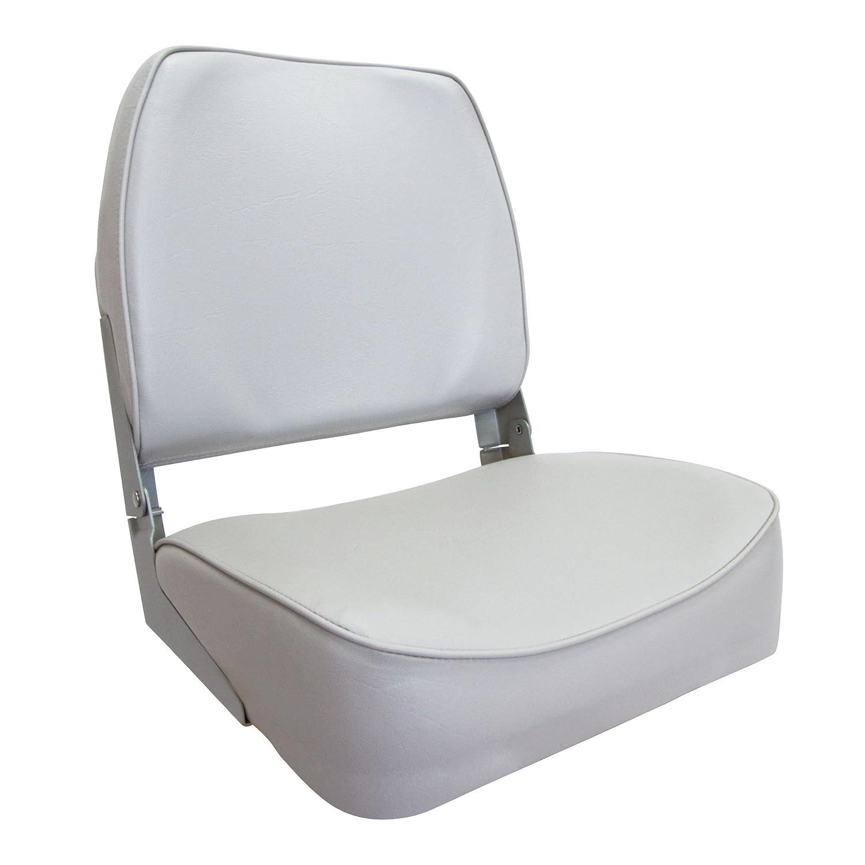 WatersideLeder Bootssitz (Boat Seat) grey