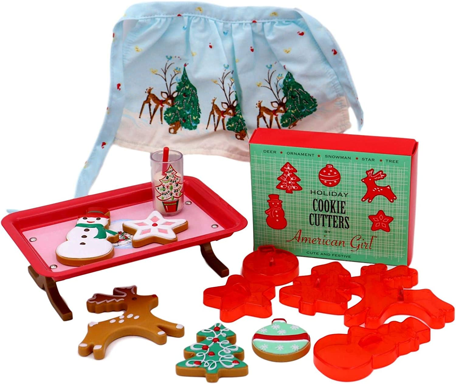 Fit For 18/'/' American Girl Doll Maryellen/'s Holiday Gift Christmas Deer Cookie