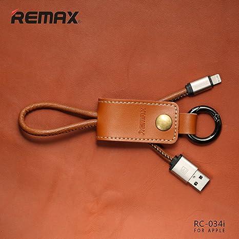 Remax RC de 034i marrón piel colgante USB 2.0 cable de datos ...