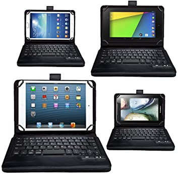 MoKo Teclado inalámbrico funda para tablet de 7.0 – 8.0, como Apple iPad Mini