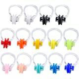 14 Pack of Swim Training Protector Plug Swimming Nose Clip Silicone
