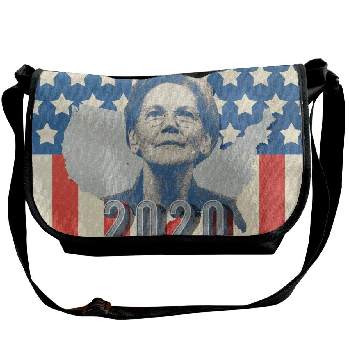 XIANGXIANG SHOP Elizabeth Warrens Greatest 2020 Fashion Unisex Casual Popular Outdoor Sling Bag Messenger Bag Shoulder Bag