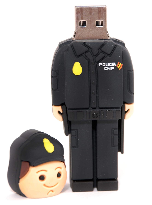 POLICIA Nacional ESPAÑOL USB de 16gb. de Memoria con Llavero ...