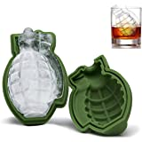 NPLE--Grenade Shape 3D Ice Cube Mold Maker Bar Party Silicone Trays Mold Tool Gift