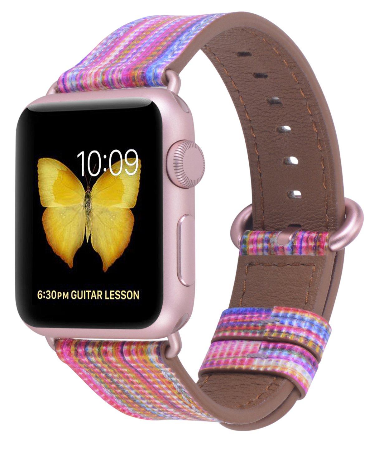 Malla Cuero para Apple Watch (38/40mm) PEAK ZHANG [7JN1HKRM]