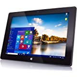 "10"" Windows 10 Fusion5 FWIN232 Plus S1 Ultra Slim Windows Tablet PC - (4GB RAM, USB 3.0, Micro HDMI, Intel Quad-Core CPU, IPS"