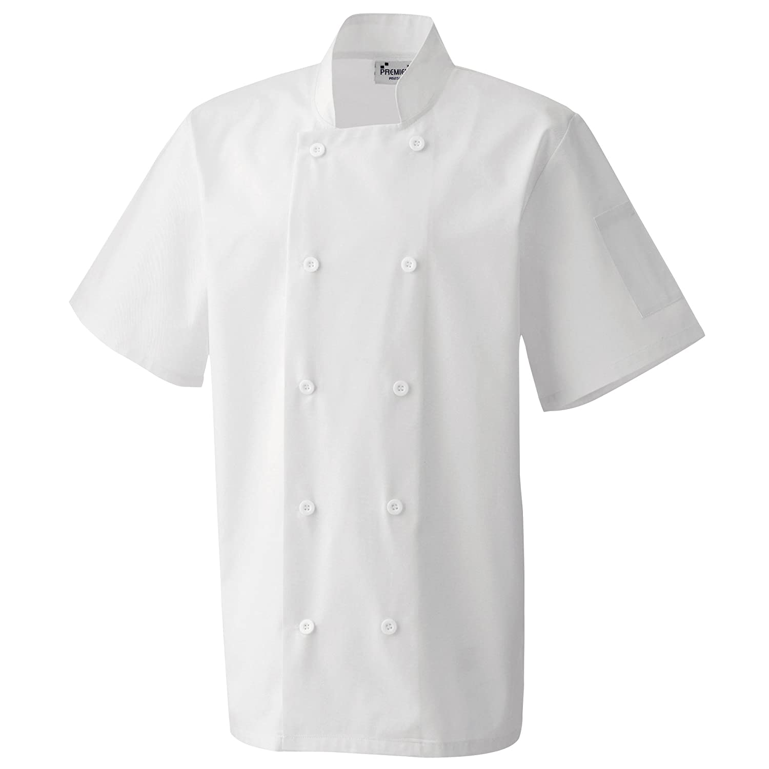 Premier Unisex Short Sleeved Chefs Jacket/Workwear