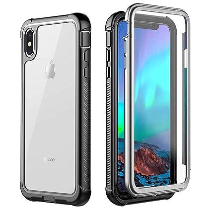 Amazon.com: ATOP - Carcasa rígida para iPhone XS Max ...