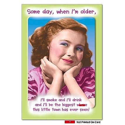 Amazon 0908 Biggest Whre Unique Humor Birthday Greeting Card