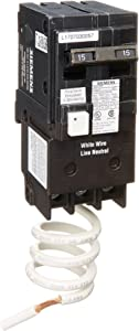 Siemens QF215A Ground Fault Circuit Interrupter, 15 Amp, 2 Pole, 120V, 10,000 Aic,