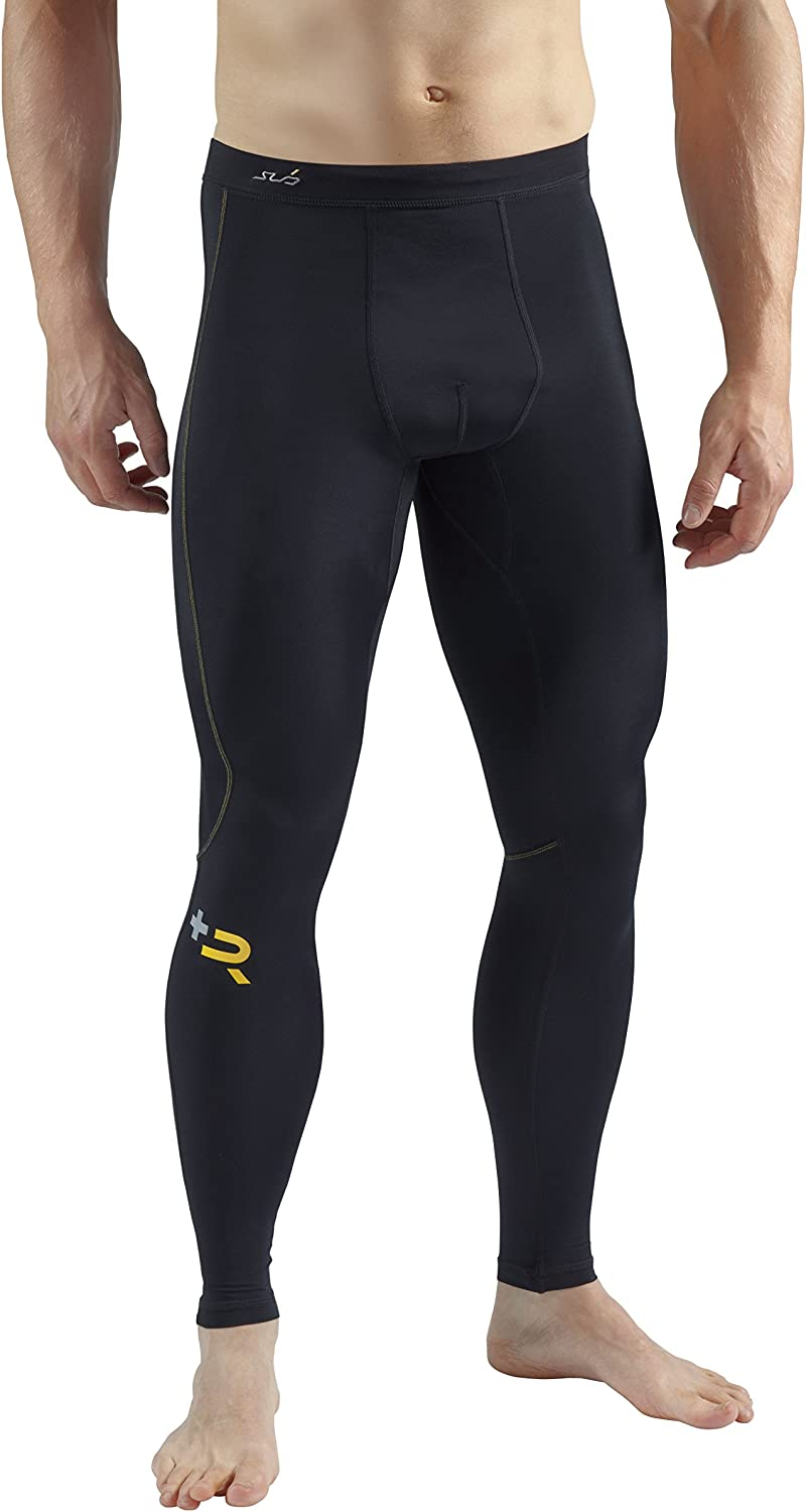 Sub Sports Mens Leggings Tights Muscle Recovery Compression Fit Post Work Out