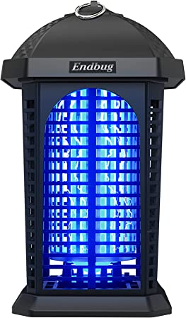 Bug Zapper Electronic Insect Killer Outdoor,Waterproof 4200V 25W Mosquito Killer Fly Traps for Backyard, Patio