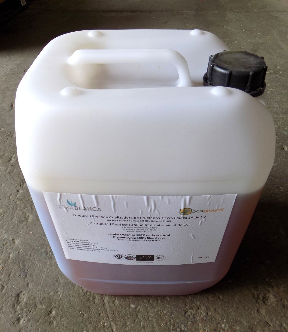 Agave Syrup (Nectar) Organic- 55 lb Tote by Grape and Granary (Image #1)
