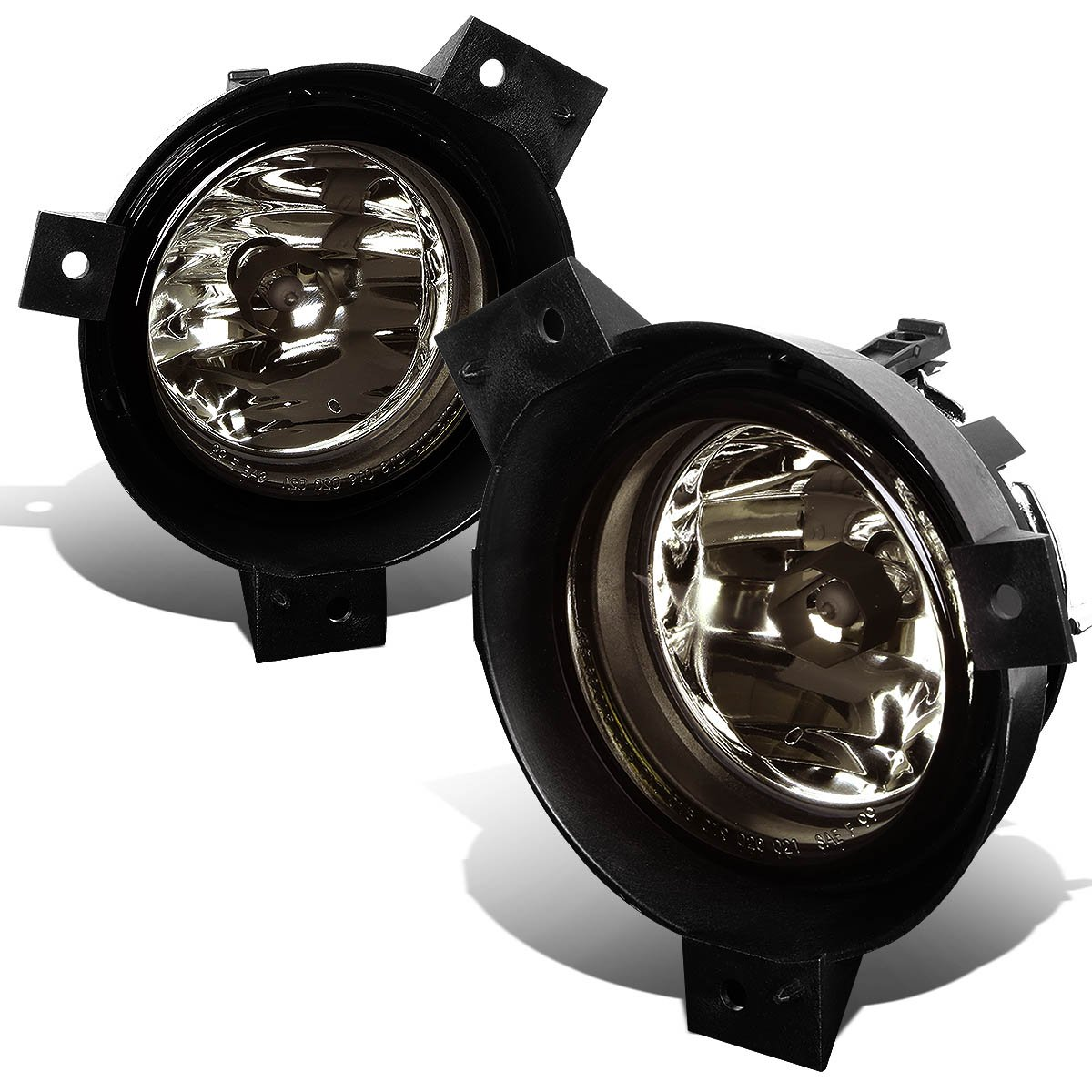 DNA MOTORING FL-NS012-SM Front Bumper Fog Light