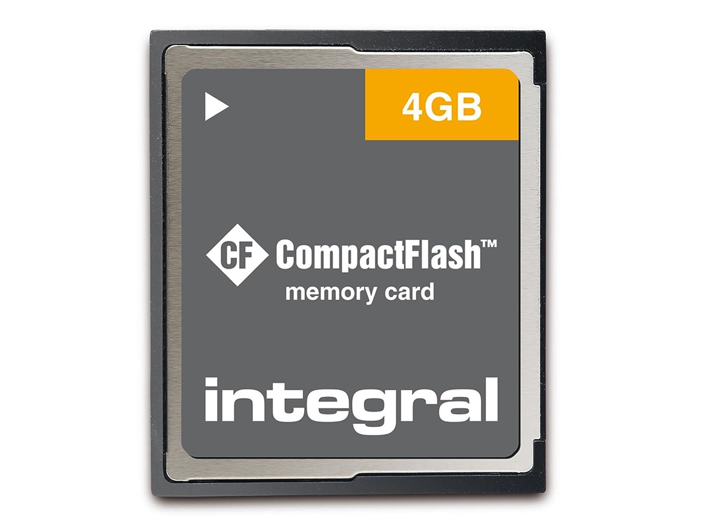 Integral 8GB CF - Tarjeta de Memoria (8 GB, CompactFlash (CF ...