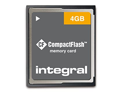 Integral 4GB Compact Flash Card - Tarjeta de Memoria (0-60 °C ...