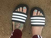 ... went with the size 6 slides and they fit like a glove