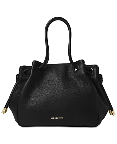 99949c1c5e2136 Amazon.com: MICHAEL Michael Kors Dalia Large Shoulder Tote (Black): Shoes