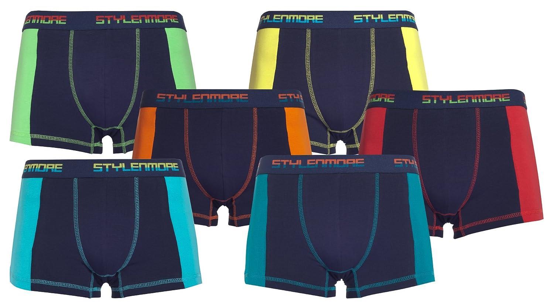 stylenmore Men's Boxers Blue Dark blue