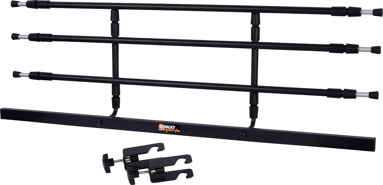 dobar Walky Guard 62201 - Rejilla separadora para Maletero de Coche (29-45 x 85-152 cm), Color Negro