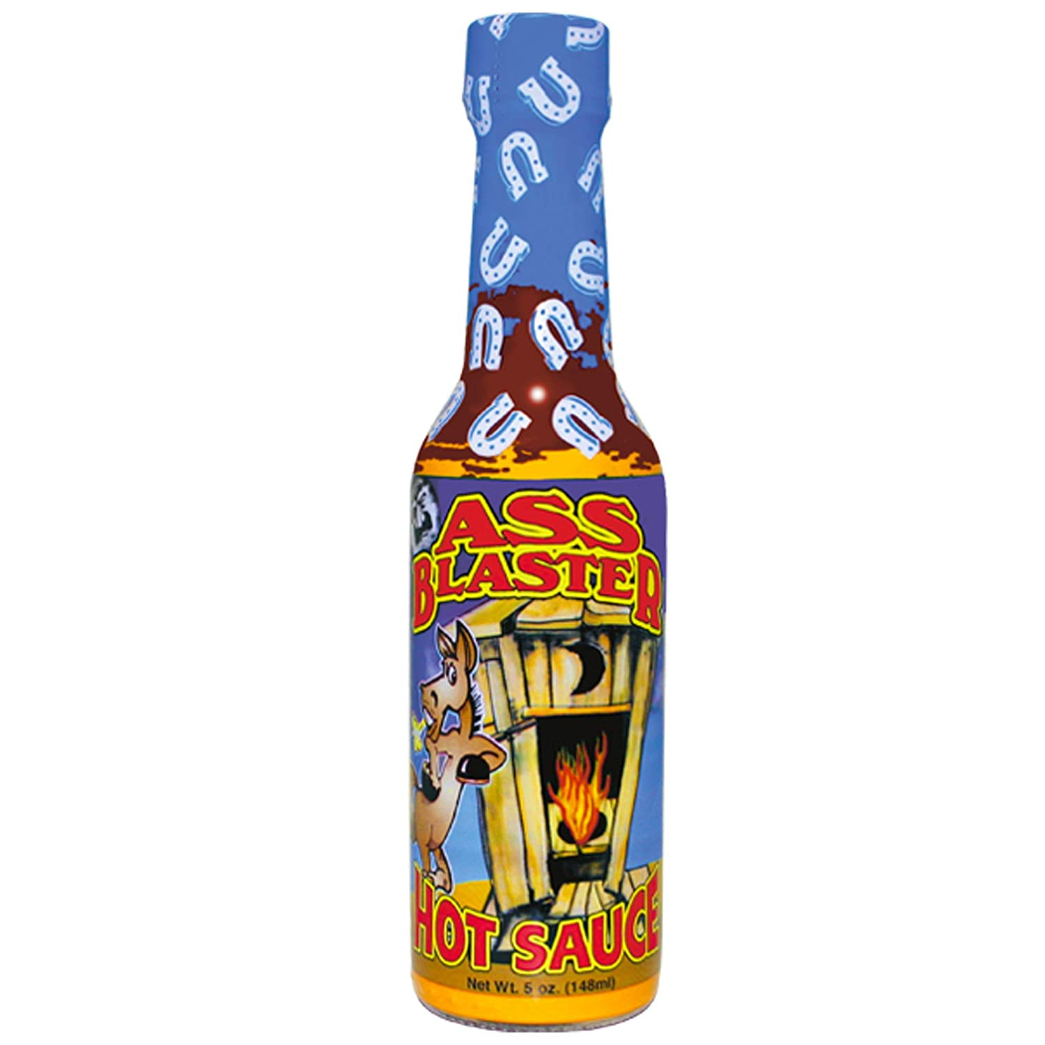 ASS BLASTER Premium Gourmet Hot Sauce Bottle - Ultimate Habanero Hot Sauce Gift - Spicy Food Lovers Try if you dare!