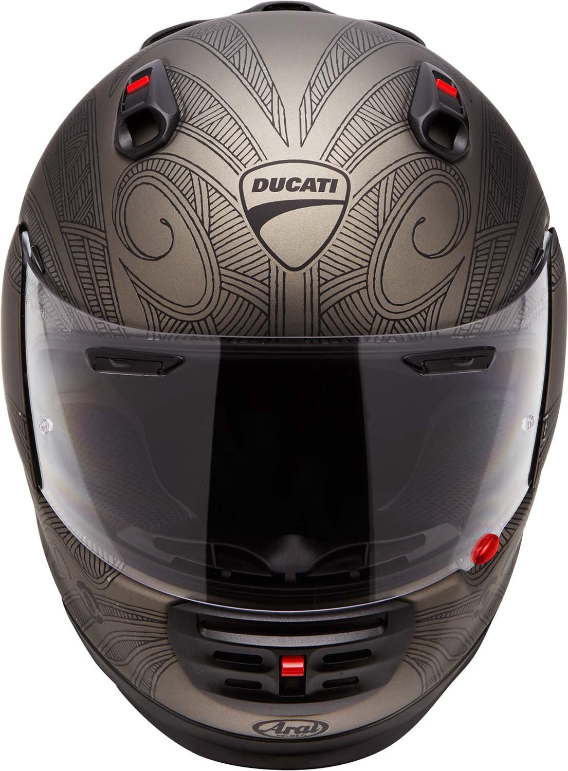 Amazon.com: Arai Defiant Ducati Full Face Soul Helmet (Medium): Automotive