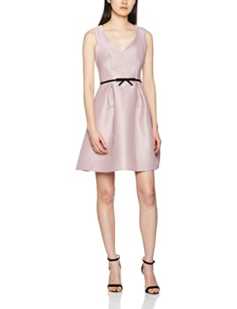 Dorothy Perkins Womens Luxe Sweet Heart Belted Prom Party Dress, Pink, ...