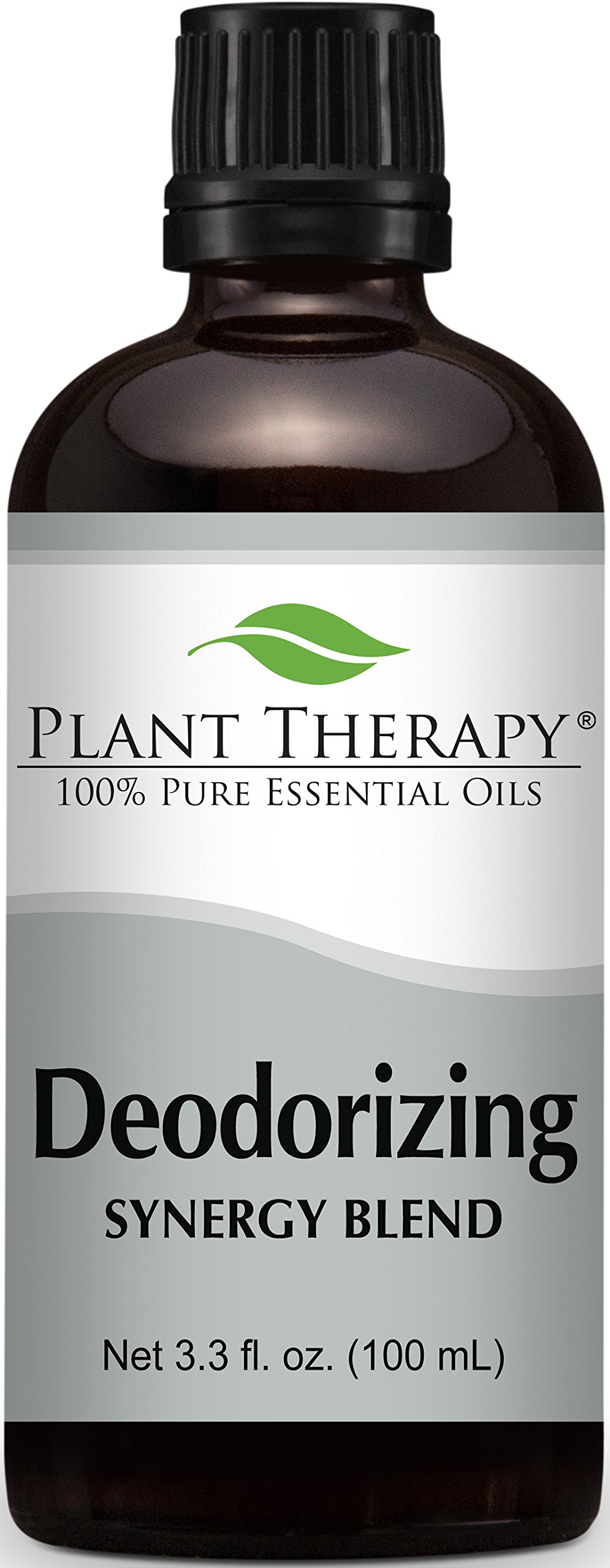 Plant Therapy Deodorizing Synergy Essential Oil Blend 100 mL (3.3 oz) 100% Pure, Undiluted, Therapeutic Grade