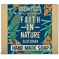 Faith For Men Blue Cedar Soap 100g (order 6 for trade outer)